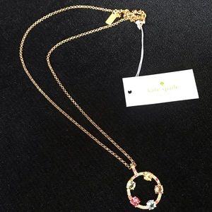 Kate spade carnival crystal necklace